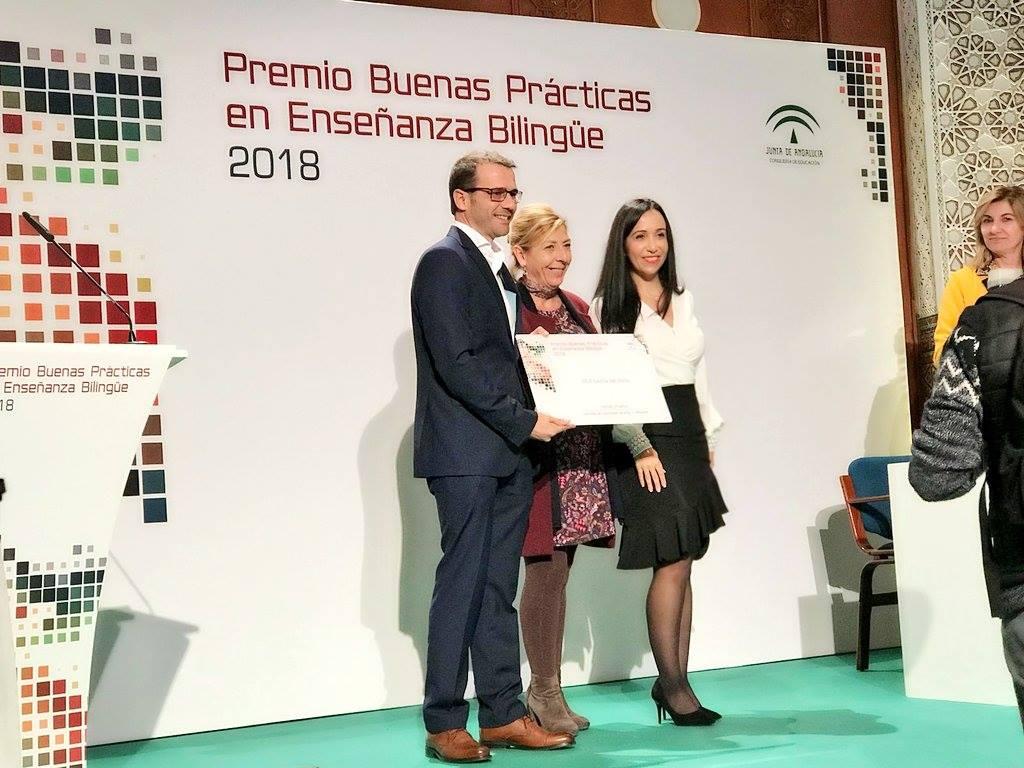 Tercer Premio Buenas Prácticas en Enseñanza Bilingüe