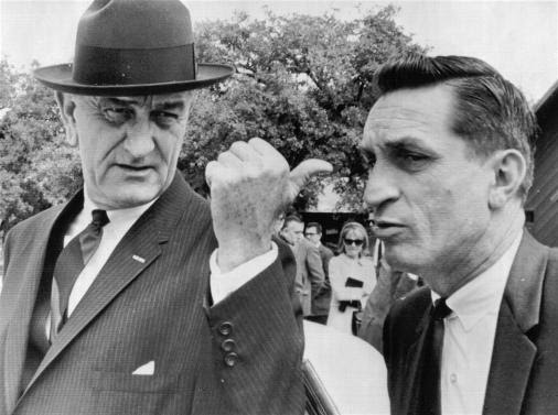 SAIC Lem Johns and LBJ