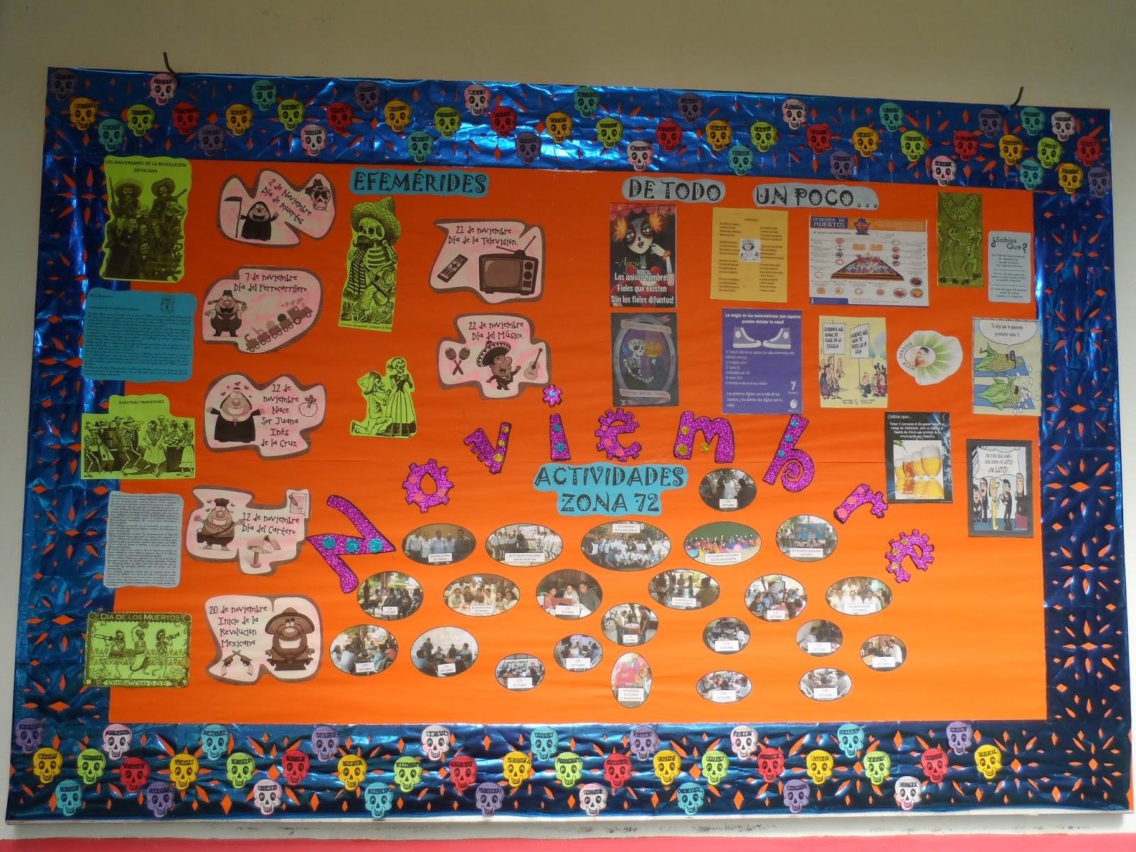 Supervisi n escolar zona 72 telesecundarias playa vicente for Diario mural en ingles