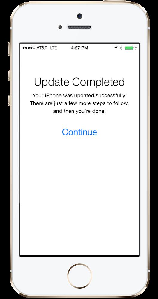iOS 8 Install iPhone 5S