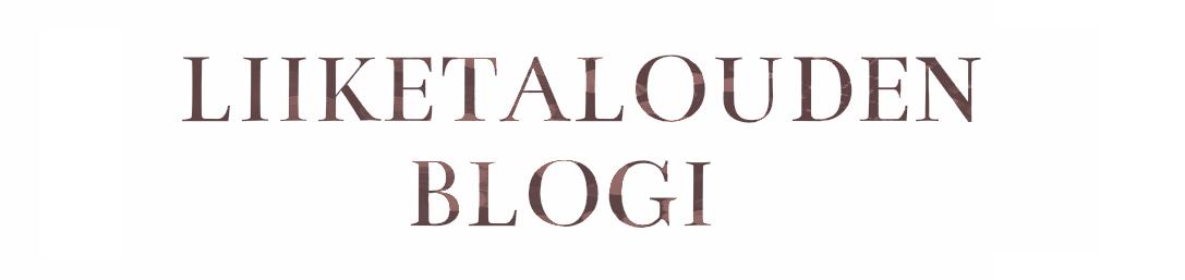 Liiketalouden blogi