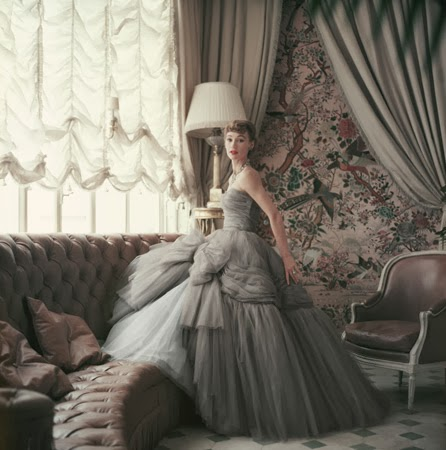 Christian Dior 1953 by Mark Shaw