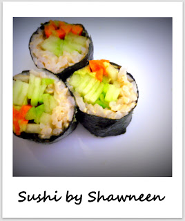 homemade sushi, healthy veggie wrap, eat to live recipe