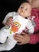 Baby dolls have a big head and skinny neck so while a jersey fabric will . (img )