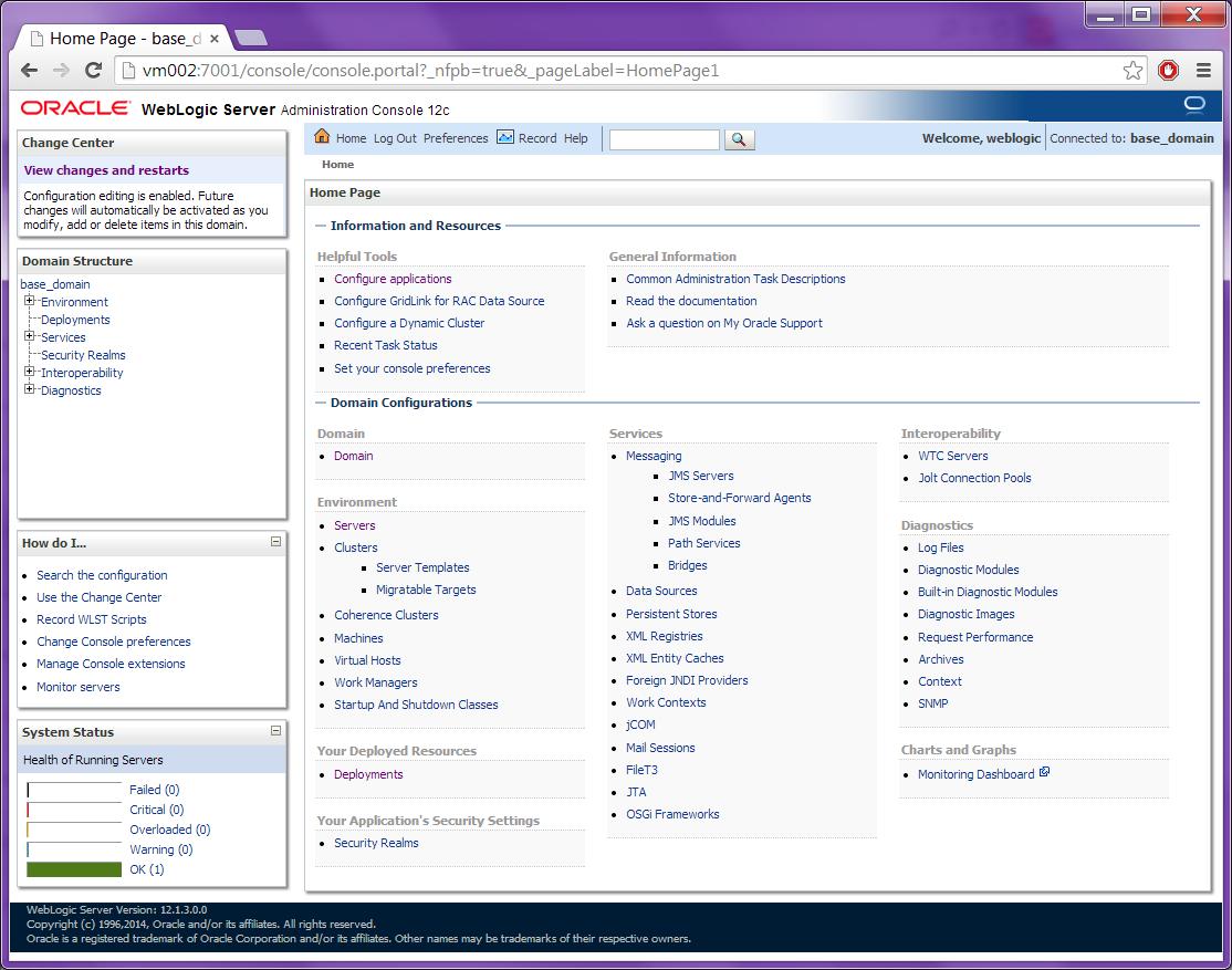 How to enable SSL (https) in Oracle WebLogic Server   Robin