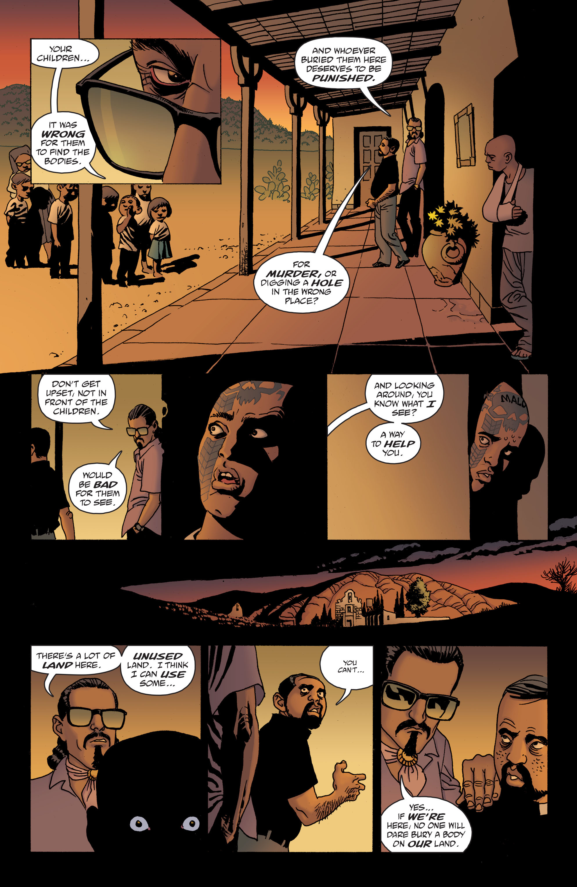100 Bullets: Brother Lono Full Page 91