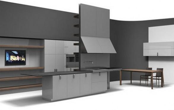 Cómo diseñar una cocina minimalista : cocina y muebles