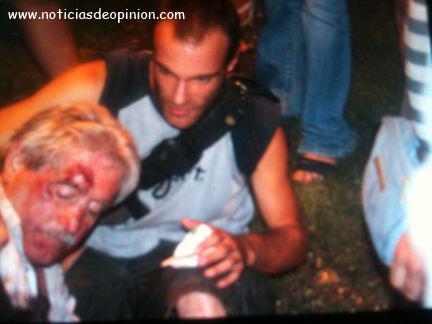 Vídeo: la policía carga contra los indignados en el Ministerio de Interior