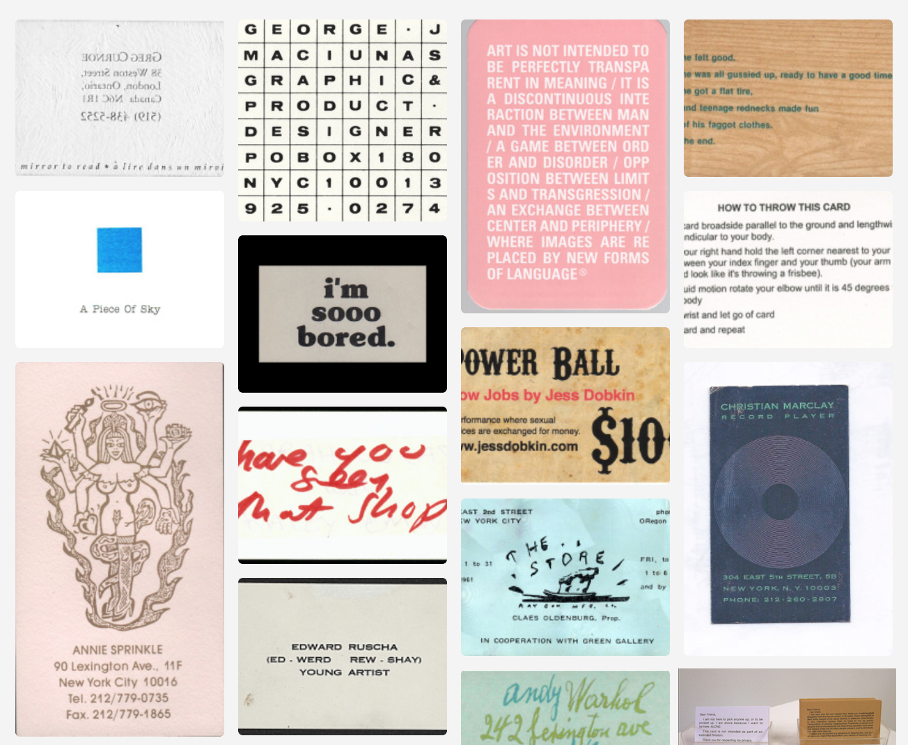 Artists\' Books and Multiples: This week on Tumblr: Artists\' Business ...
