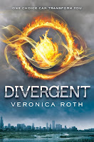Divergent Veronica Roth book cover
