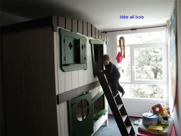Juillet 2012 le petit monde de kate marshall - Lit superpose original ...