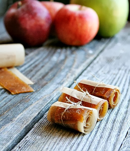 Apple and Cinnamon Fruit Leather from Heather's French Press