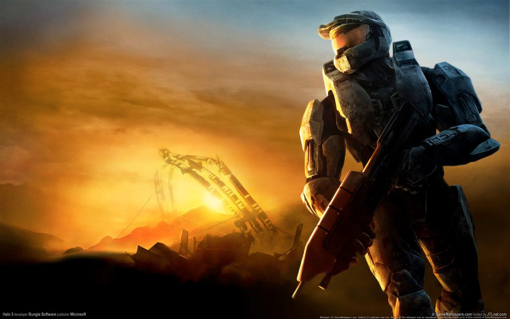 Halo HD & Widescreen Wallpaper 0.499181652909751