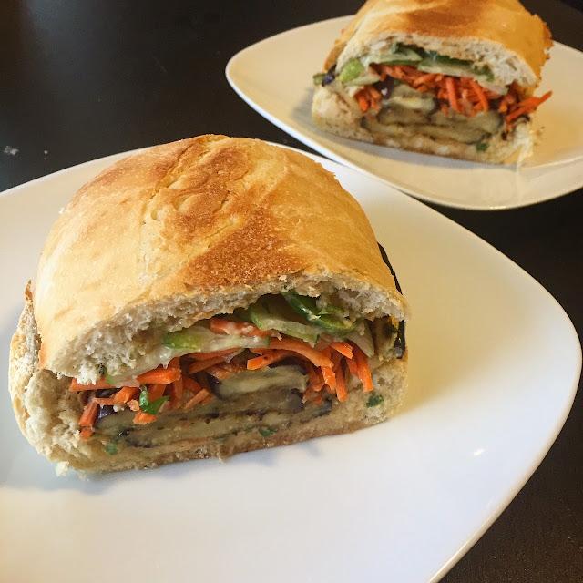 Meatless Monday: Eggplant Banh Mi