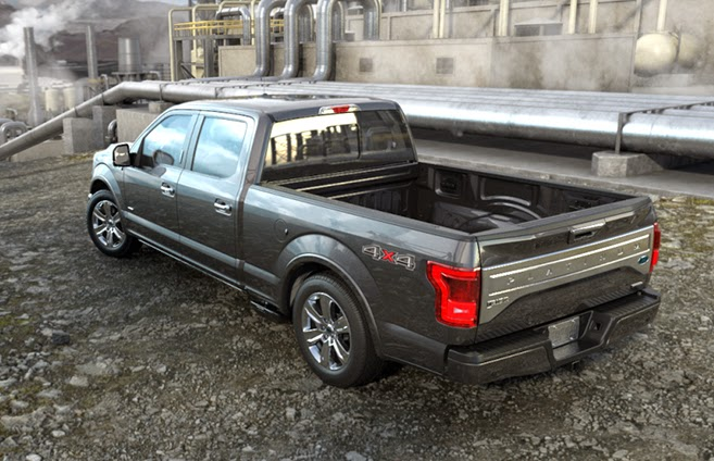 2015 Ford F-150's New Aluminum Body