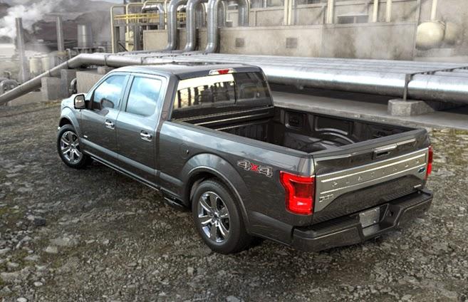 2015 Ford F-150's New Aluminum Body