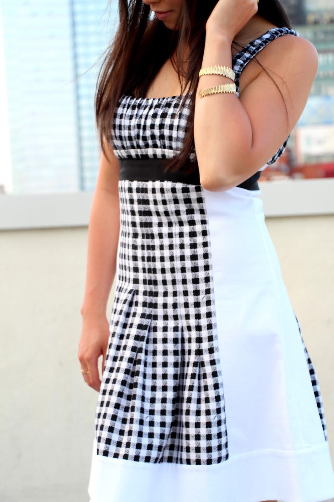 diane von furstenberg daisy gingham dress