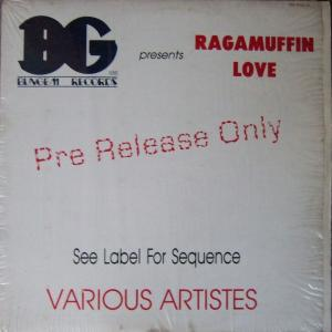 Raggamuffin love(bun gem) lp-1989