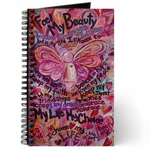 Pink Cancer Angel Journal