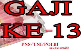 Gaji Tunjangan PNS TNI Polri 2016