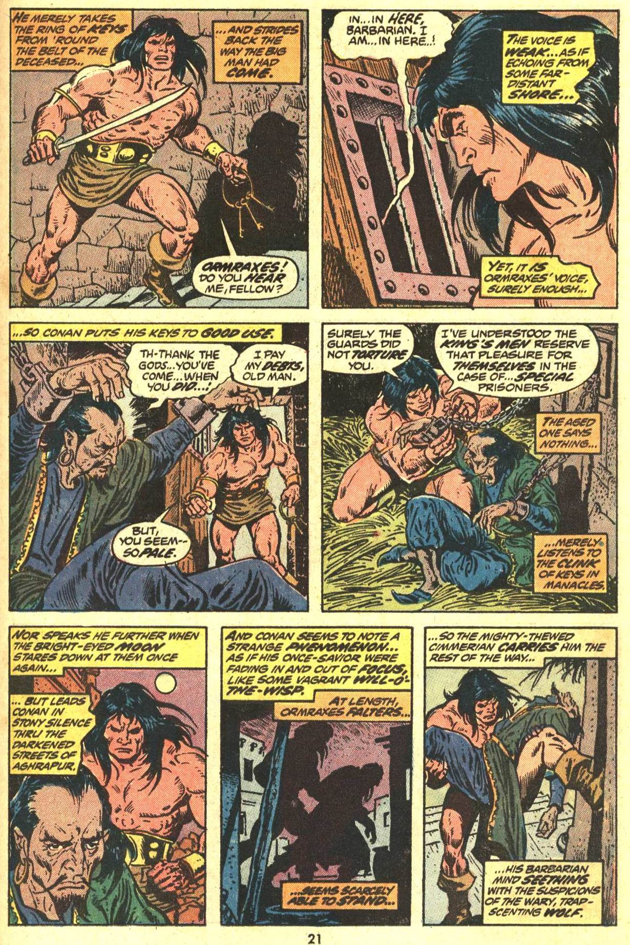 Conan the Barbarian (1970) Issue #29 #41 - English 16