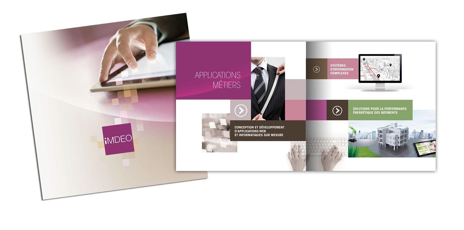 Souvent PR2I, Agence de Communication: Nouvelle plaquette commerciale  AW85