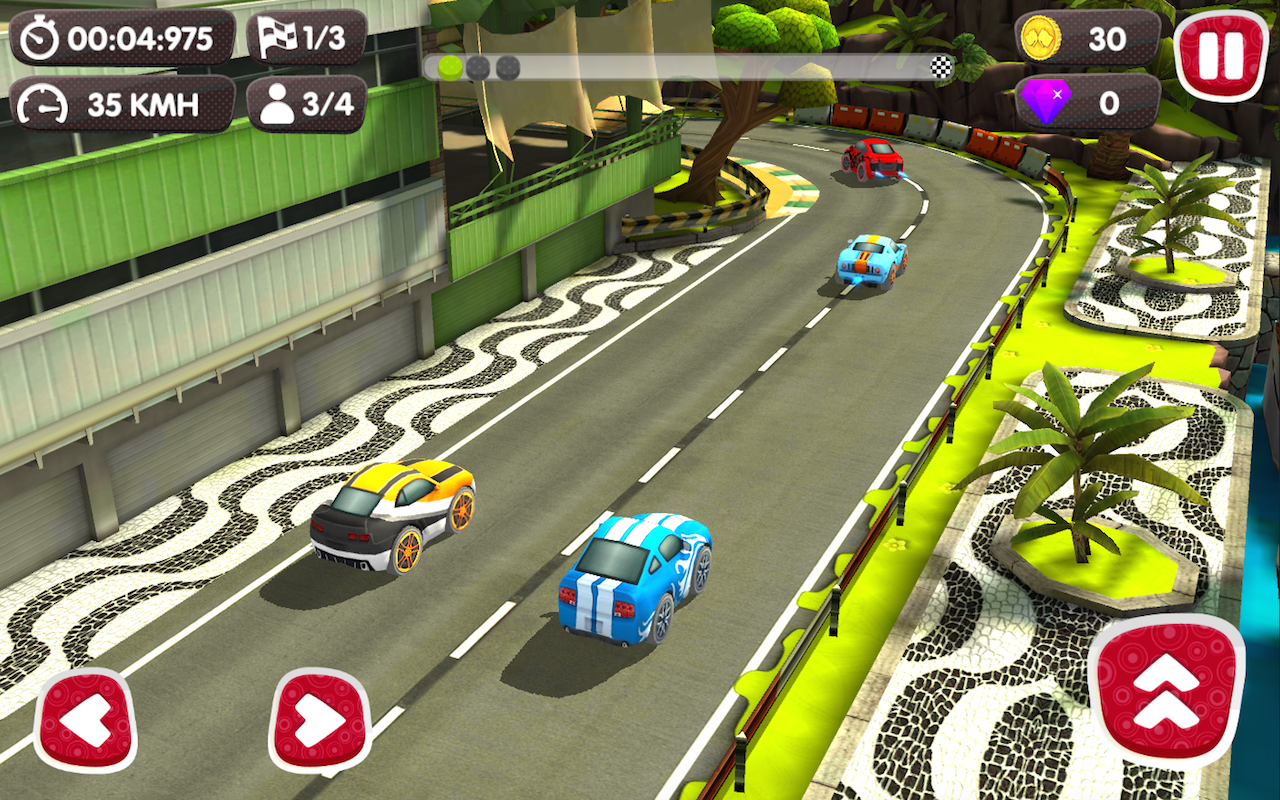 Mod Turbo Wheels v1.0.1 Apk+Obb Data [unlimited money]