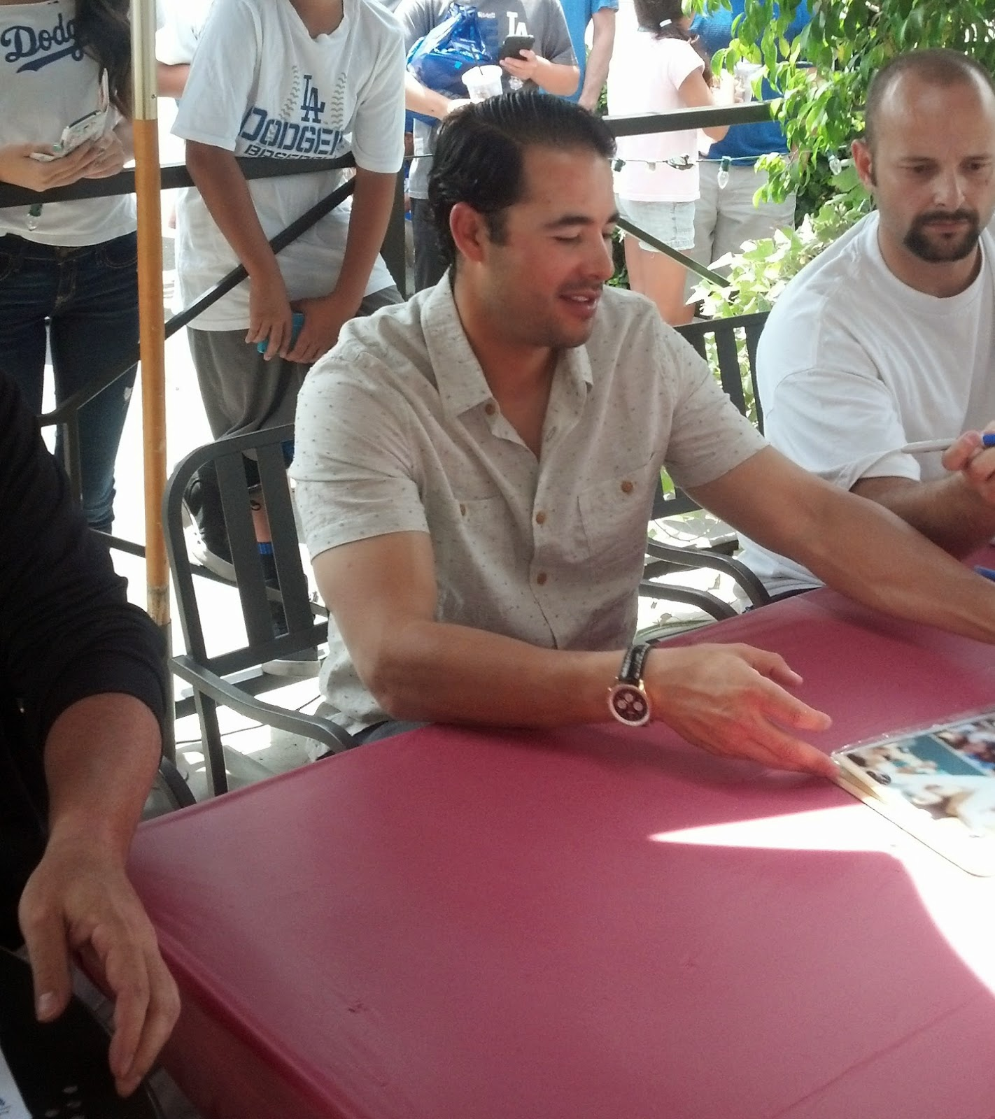 63aa5dc9ebe Dodger RAMblings  Andre Ethier Signing - Recap and Photos