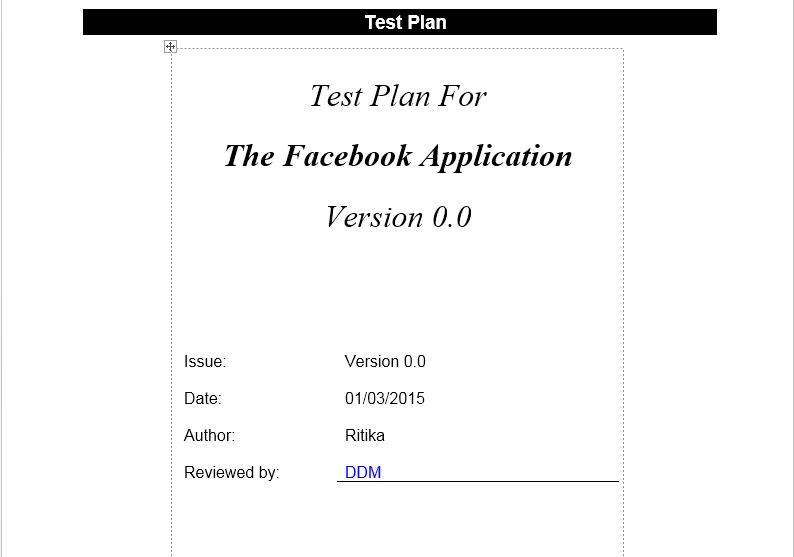Test Plan Template Selenium Gyan – Write Contingency Plan Template