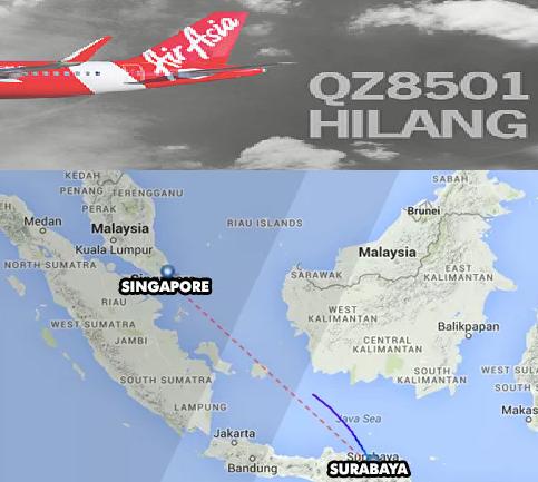 AirAsia QZ8501 Hilang