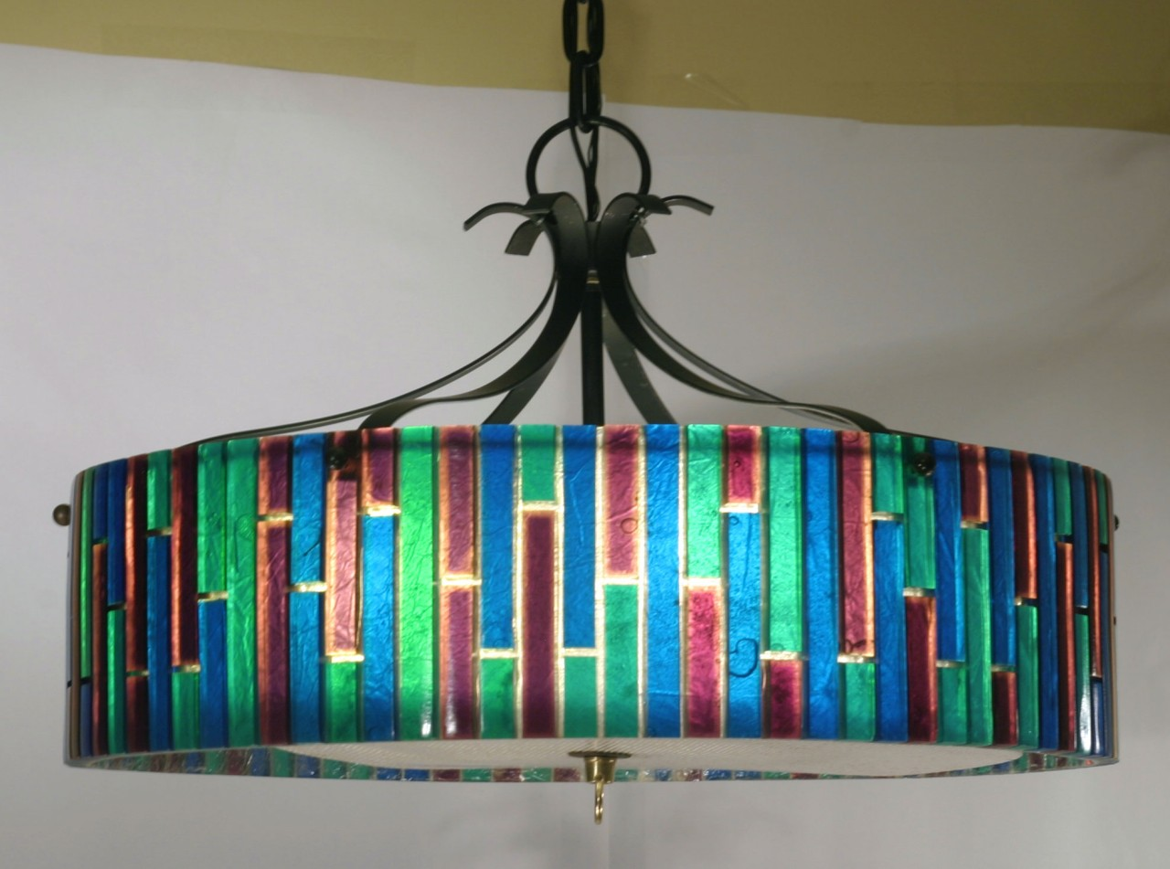 Mad for mid century multi colored pendant light multi colored pendant light aloadofball Images