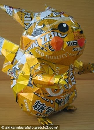 Origami dari Kaleng