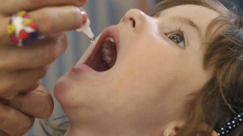 Governo lança campanha de vacinação contra a polio e sarampo