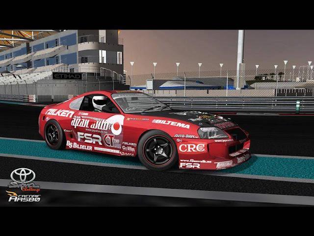 rfactor mods Toyota Supra MKIV dirft
