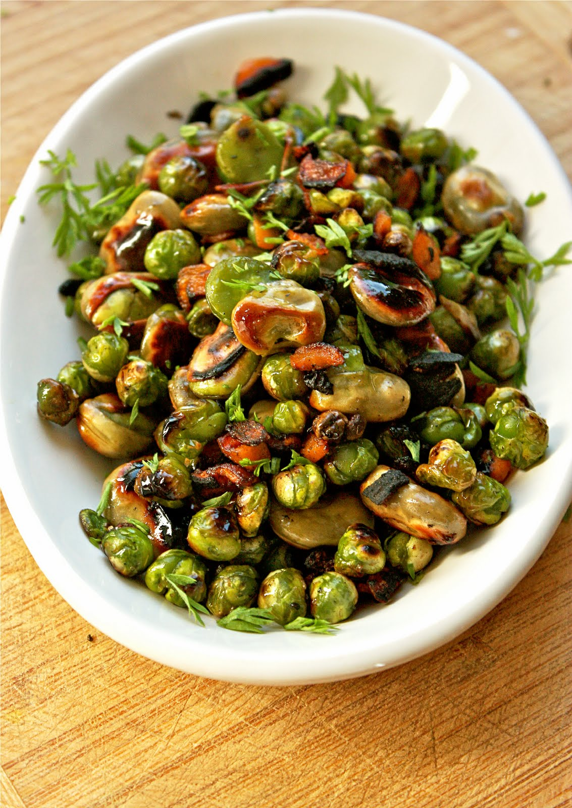 Sreelus Tasty Travels: Quinoa Salad loaded with Fava beans ...