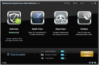 Advanced SystemCare Plus Antivirus 2013 Full