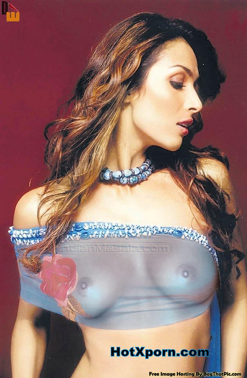 Malaika Arora nipples visible Fake Photo