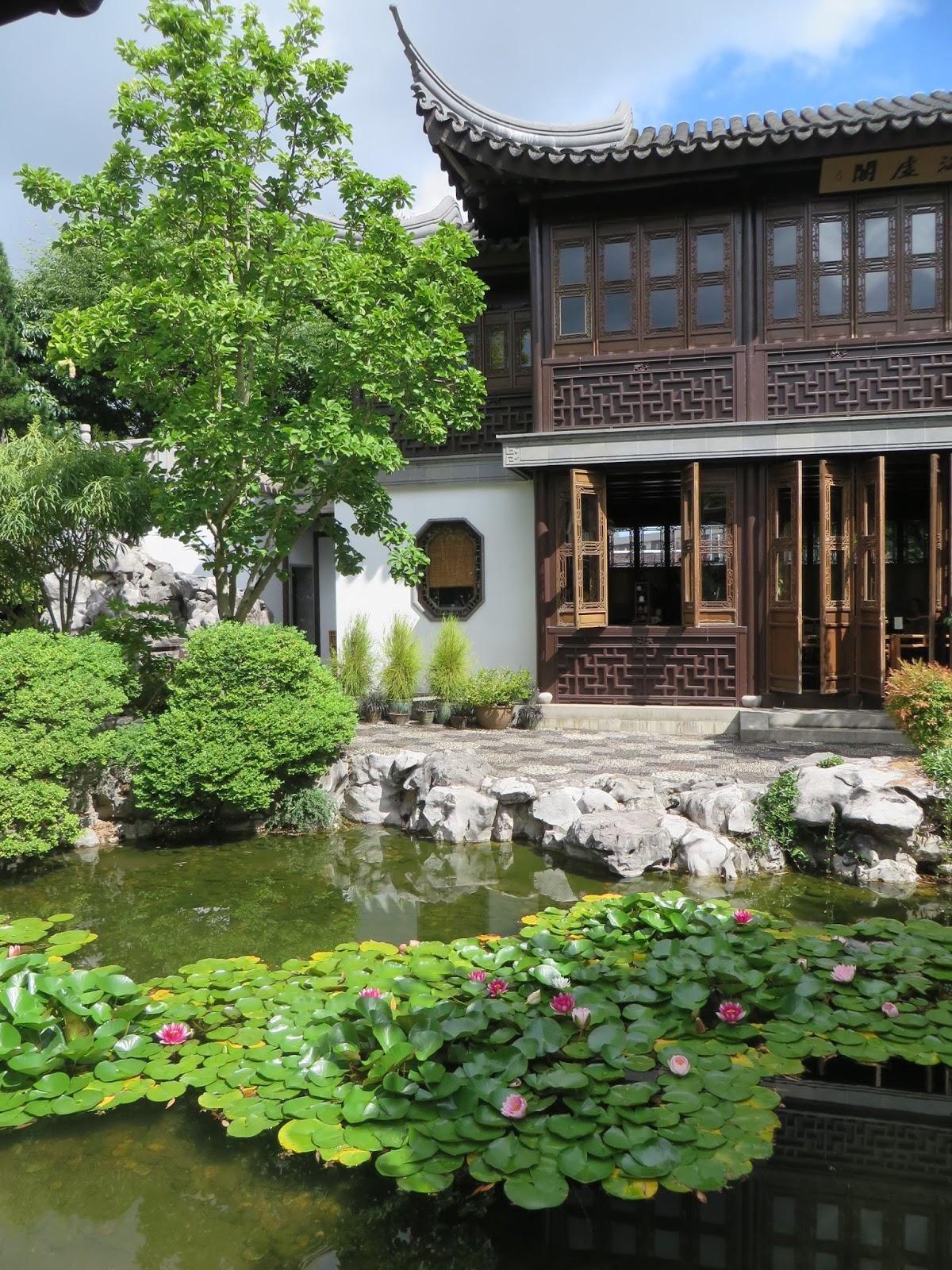 Chickadee Gardens Lan Su Chinese Garden Portland - chinese garden design is akin to