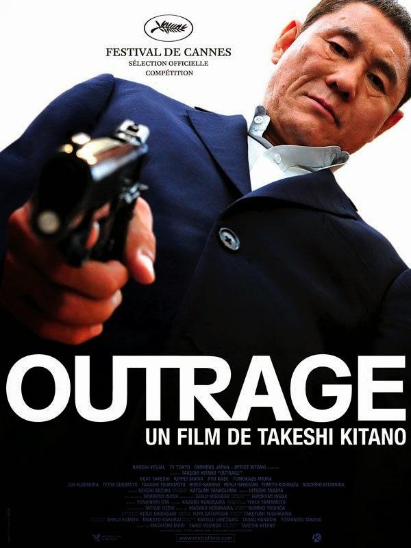 Beat Takeshi / Takeshi Kitano Affiche-outrage