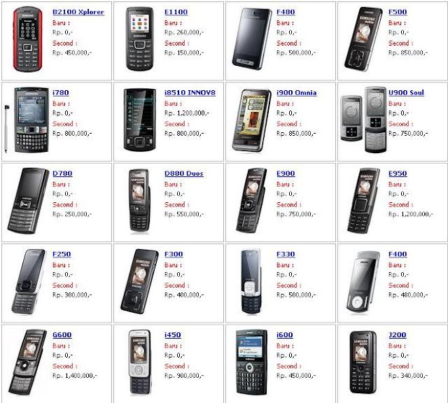 Harga HP bekas Nokia - exnim.com