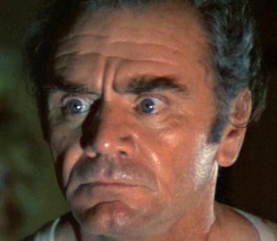 Ernest Borgnine surprised look in The Poseidon Adventure