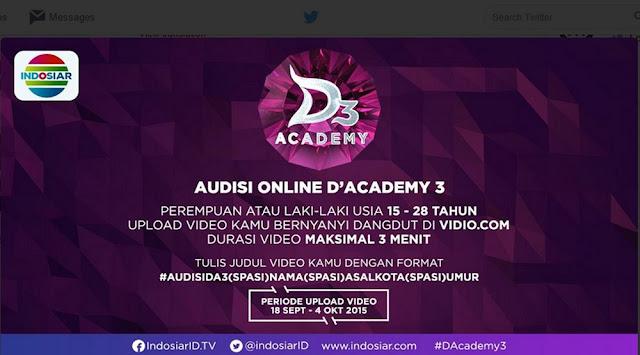 Audisi DA Dangdut Academy 3 Indosiar