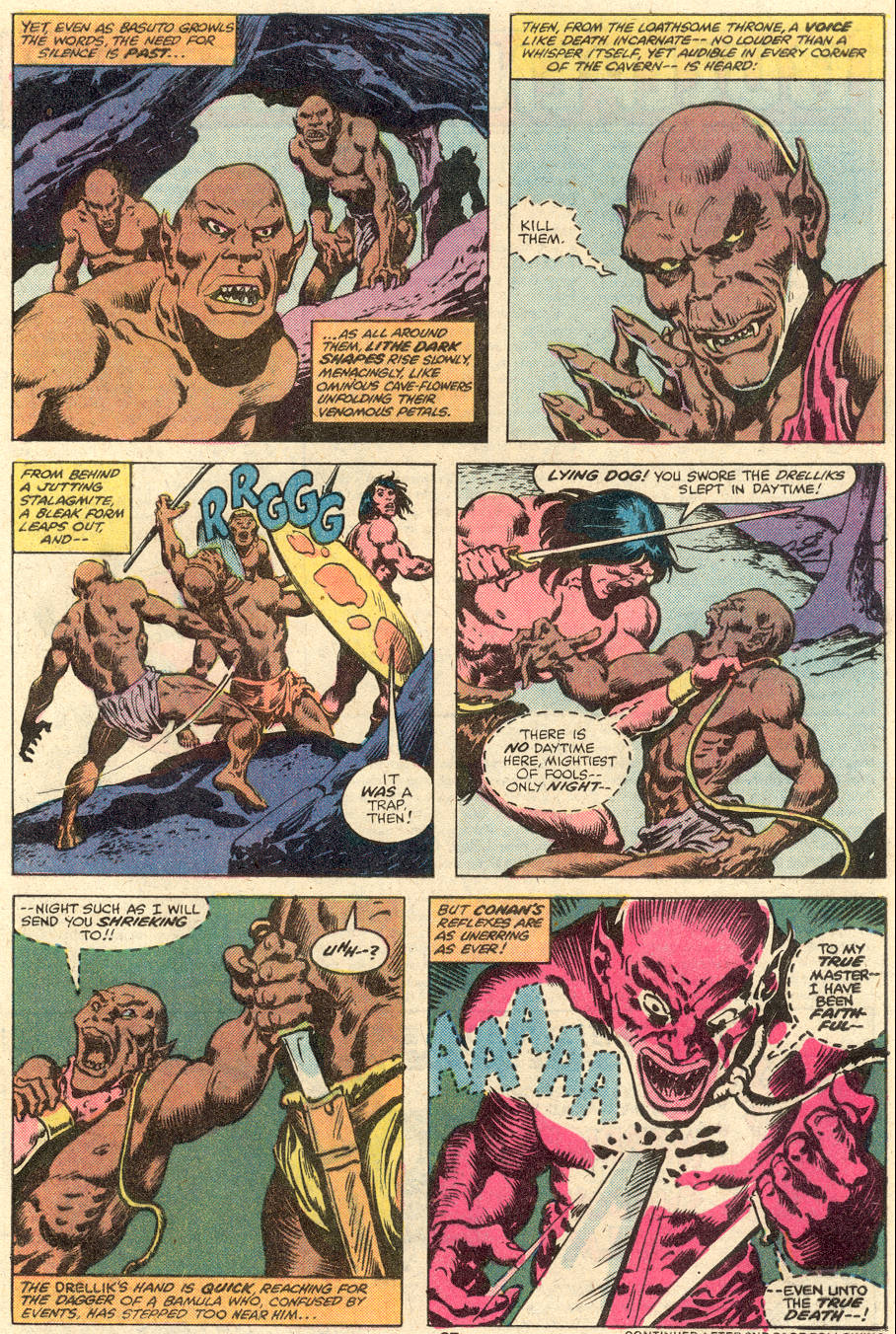Conan the Barbarian (1970) Issue #102 #114 - English 16