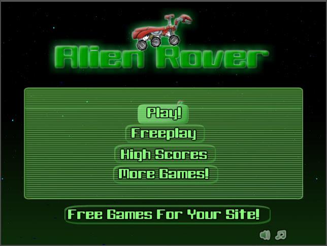 Truck Game : Alien Rover