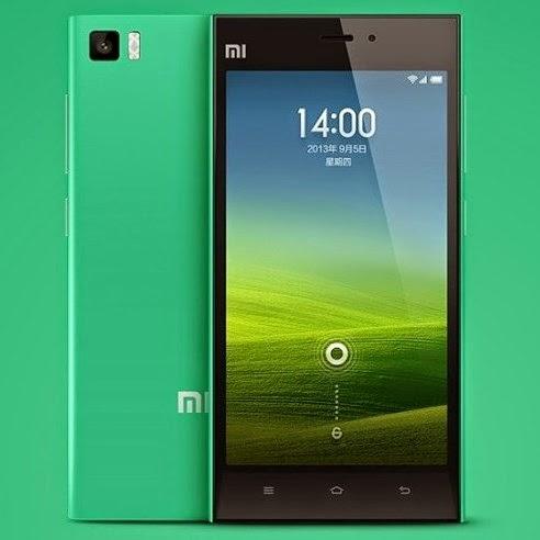 Xiaomi lança nova versão do Mi3 na cor verde
