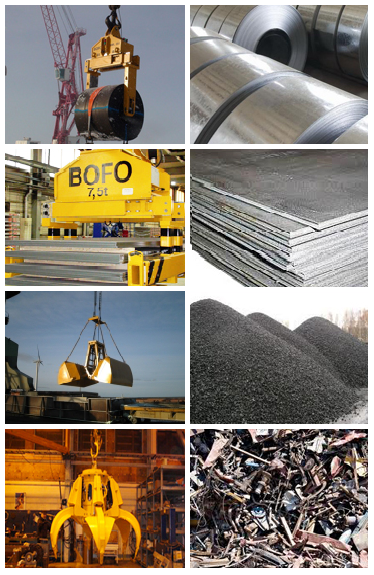 Transport and handling of material