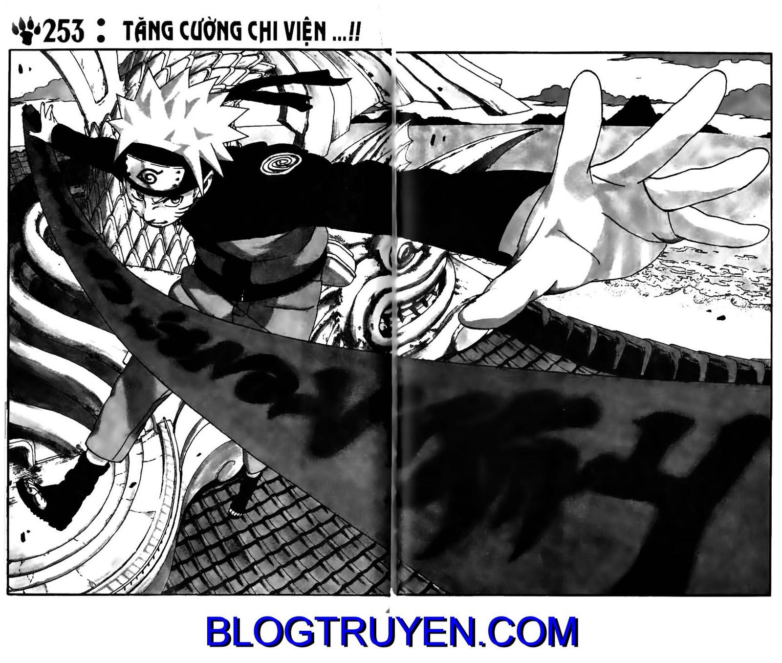 Naruto chap 253 Trang 3 - Mangak.info