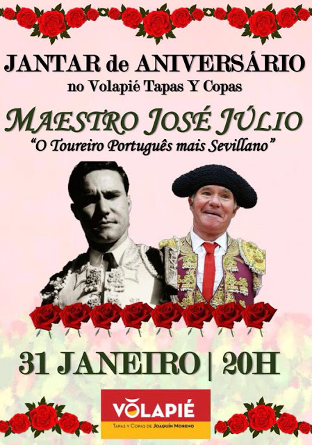 CAMPO PEQUENO REST. VOLAPIÉ CENA DE ANIVERSARIO AL MAESTRO JOSÉ JÚLIO.
