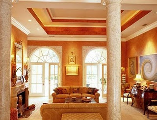 Pop Living Room Ceiling House Affair