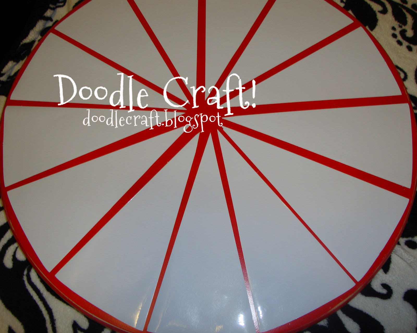 building a prize wheel
